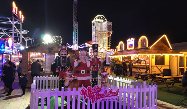 Entry to this fantastic event will be made through a huge festive gateway,  you will be greeted by thousands of beautiful lights, hundreds of meters  wooden ...